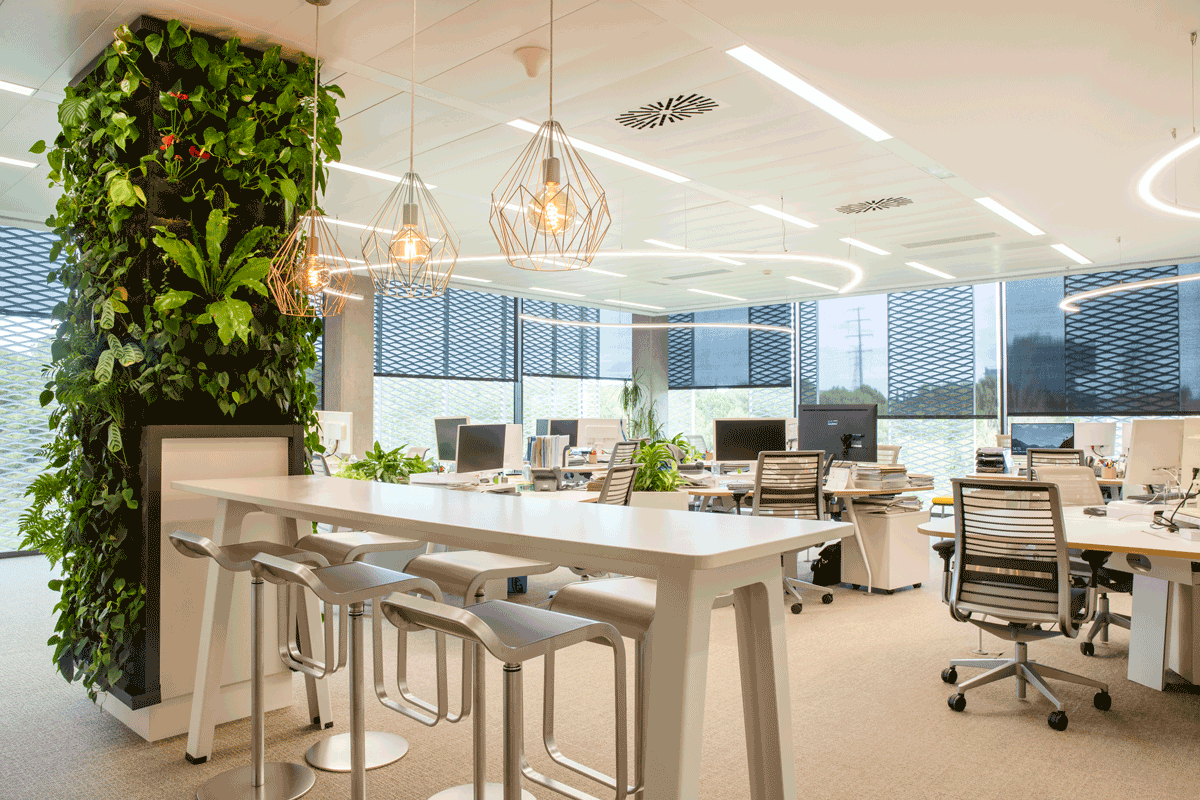 Healthy workplaces to improve well-being and productivity