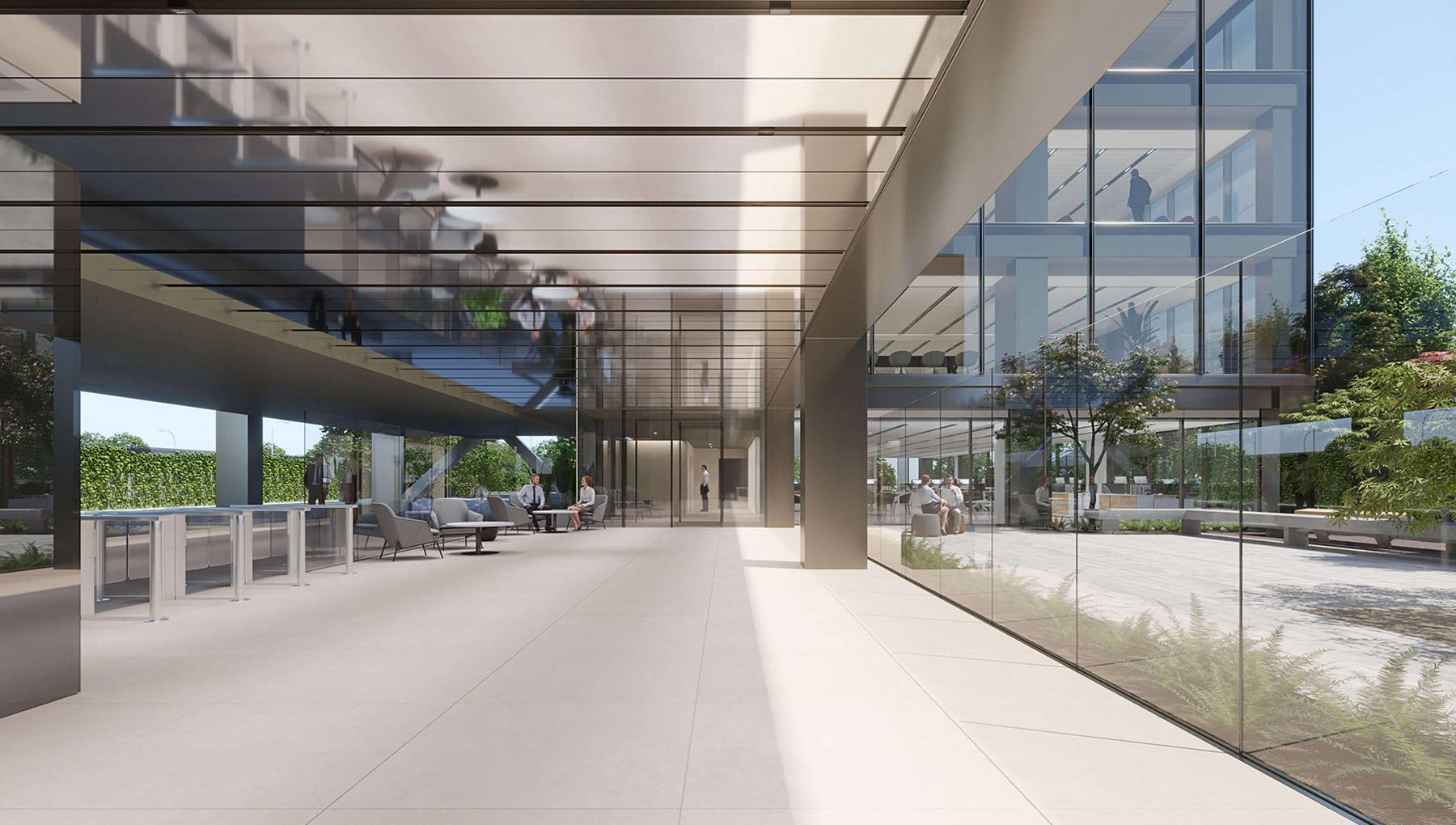 Botanic Construcía lobby