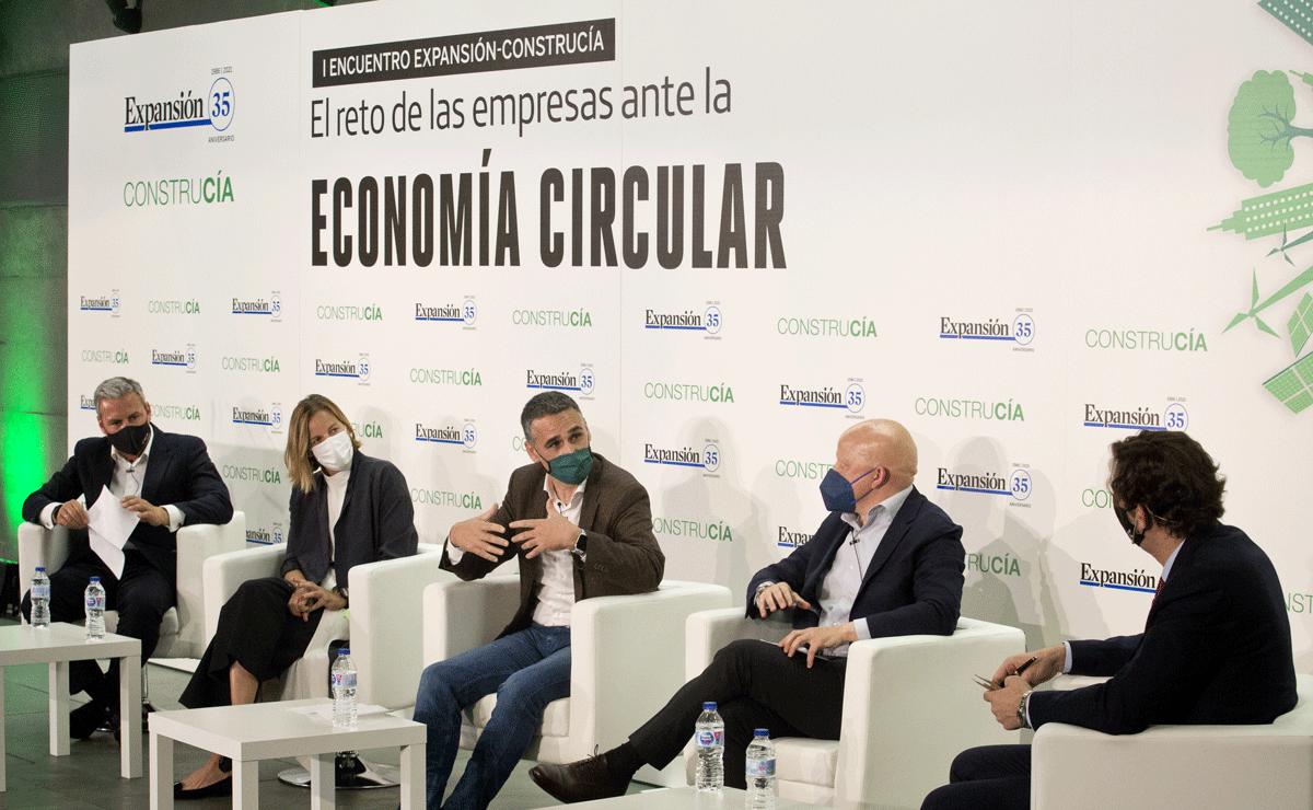 mesa debate foro economia circular