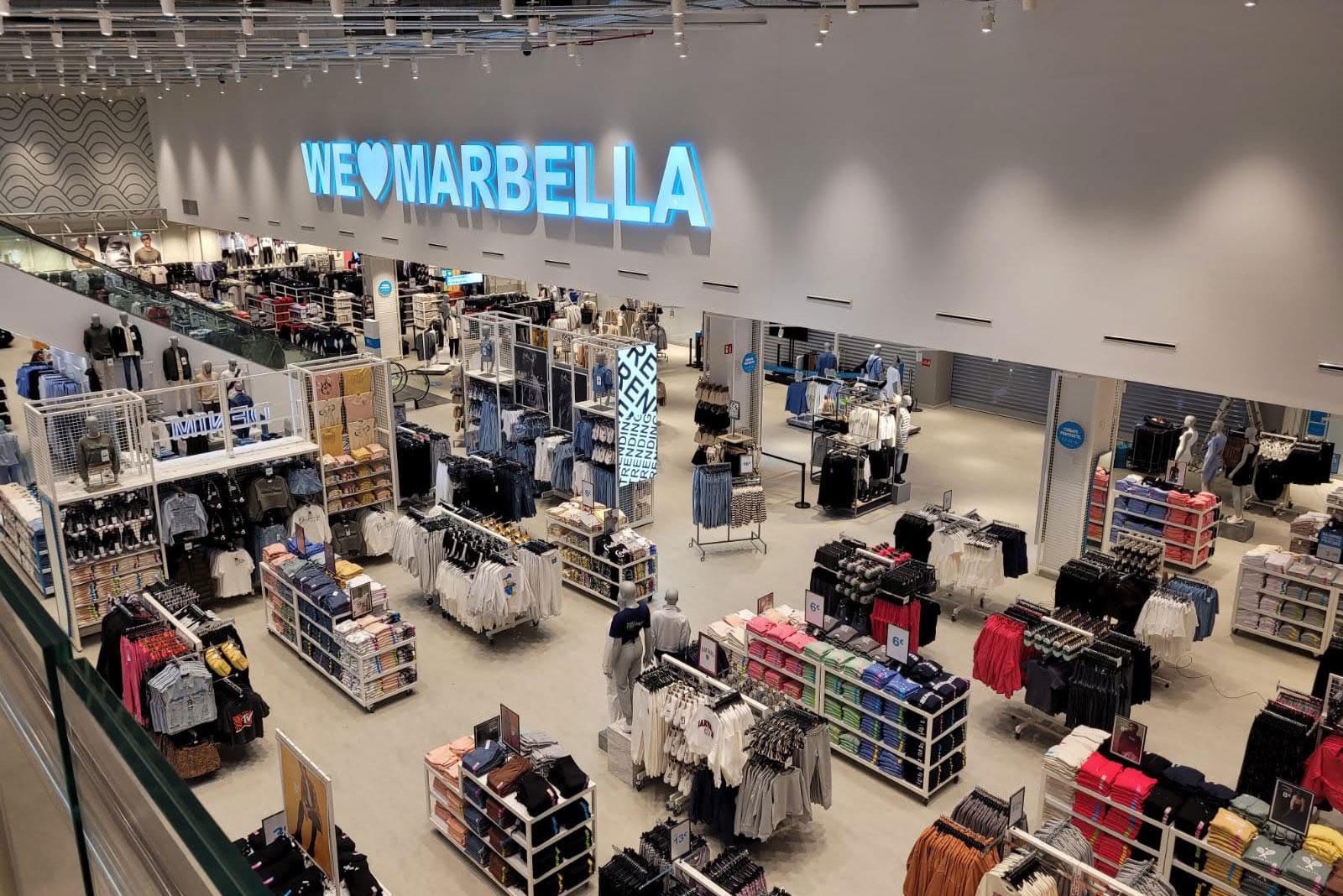 Construcía finaliza la nueva tienda de Primark en Marbella